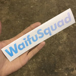 WaifuSquad Holographic Vinyl Decal