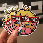 Waifu Squad Vinyl Cut Sticker