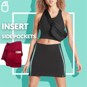 [Last Day Promotion & On-Time Delivery] Ultra-thin Breathable Workout Pleated Skort