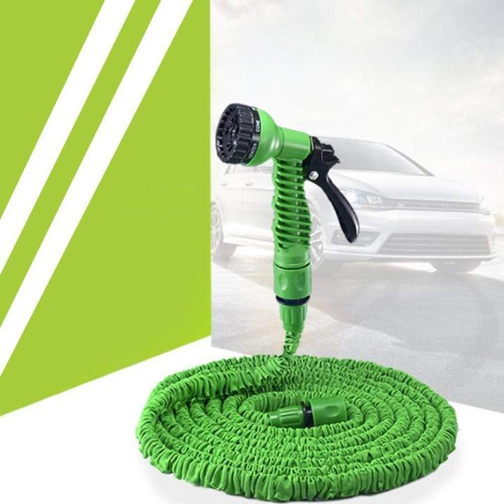 Extra-Long Expandable Garden Hose(Include 7-Setting Hose Nozzle)