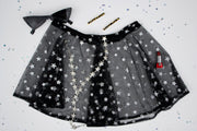 black stargaze skirt