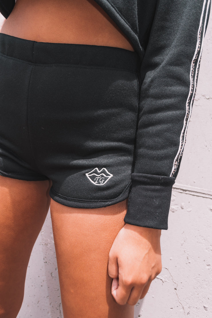 On the go track shorts