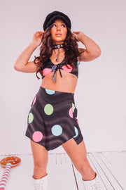 Techno Dots Skirt Set