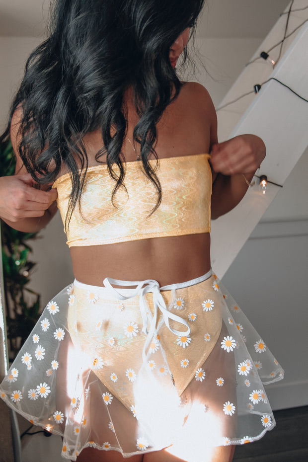 Dripping Daisies Skirt