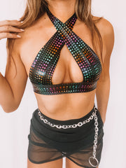 Disco Barbie Top