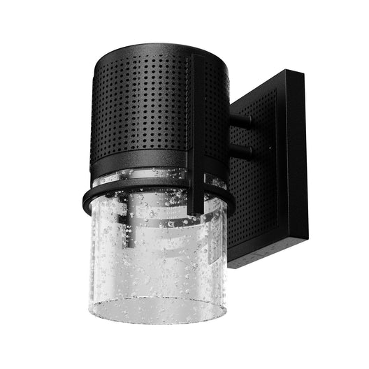 9W Dimmable LED Outdoor Wall Sconce Light, Textured Black Finish, 5000K (Daylight White), 500 Lumens, ETL Listed