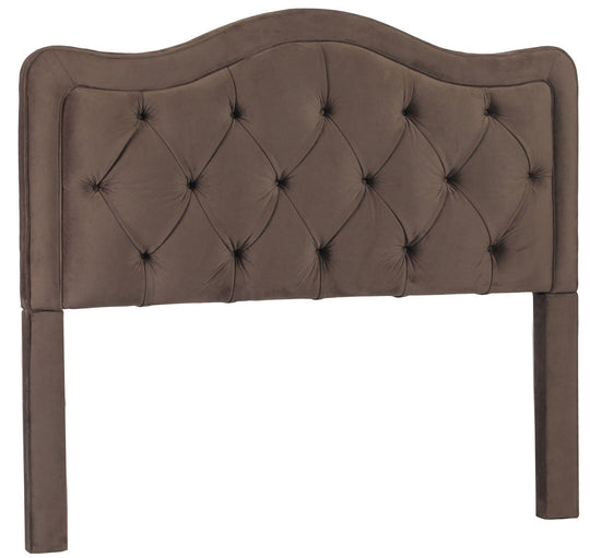 Modern Allure Button Tufted Queen Bed Frame With Headboard - Bed Headboard