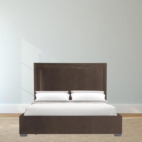 Modern Upholstered Brookside Queen Headboard - Bed Frame With Headboard