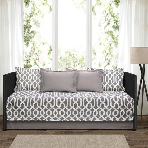 Edward trellis 6Pc Daybed Cover Set