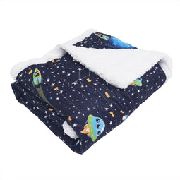 Universe Sherpa Throw Navy