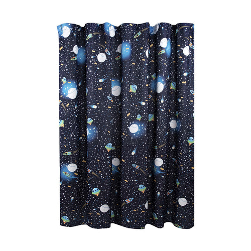 Universe Shower Curtain Navy