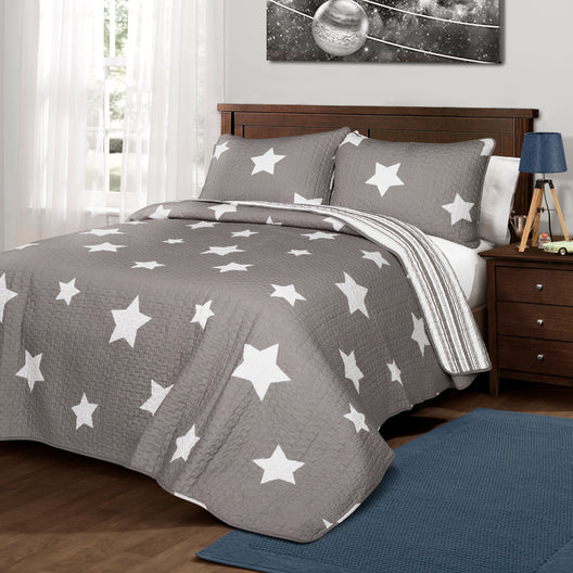 Star Quilt Gray Set's