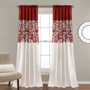 Load image into Gallery viewer, Estate Garden Print Room Darkening Window Curtain Set