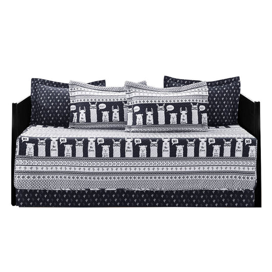 Llama Stripe Daybed 6Pc Set