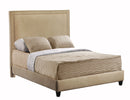 Load image into Gallery viewer, Brookside King Bed with Rails and Footboard in Brooke Pecan