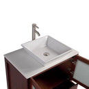 "Load image into Gallery viewer, 30"" Cherry Solid Wood Sink Vanity With Mirror 