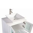 "Load image into Gallery viewer, 30"" White Solid Wood Sink Vanity With Mirror 