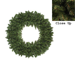 Canadian Pine Artificial Christmas Wreath - Unlit