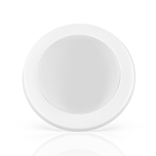 LED Disk Downlight - 10W Dimmable - 4 Inch Recessed Light - Soffit Kitchen Lighting - 650 Lumens, ETL Listed