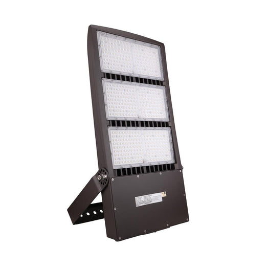 450W LED Flood Light With Photocell, 5700K, AC100-277V, Bronze, With 20KV Surge Protector