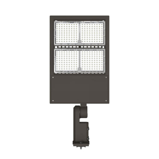 300W LED Pole Light With Photocell - 5700K - Universal Mount - Bronze - AC100-277V