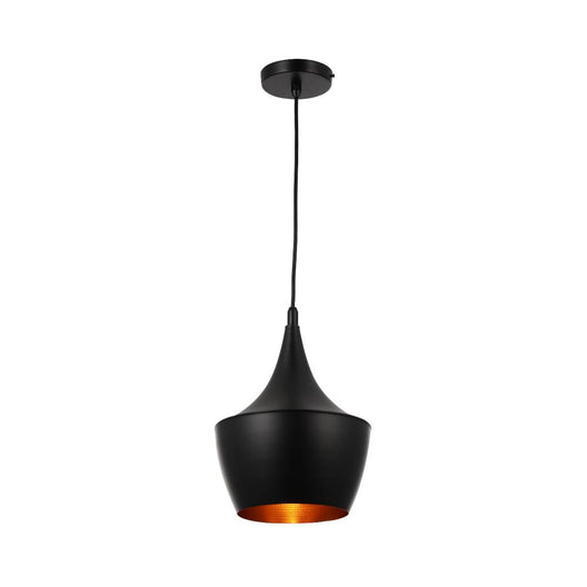 Matte Black Pendant Light Fixture, Guard style, E26 Base, Steel Body, UL Listed, 3 Years Warranty
