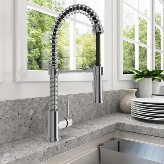 Livenza Spiral Pull-Down Spray Kitchen Faucet
