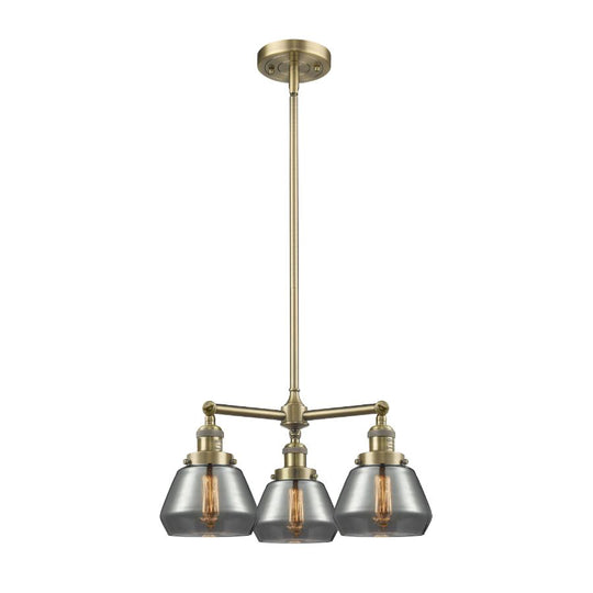 Fulton 22-Inch Chandelier with Hang Straight Swivel