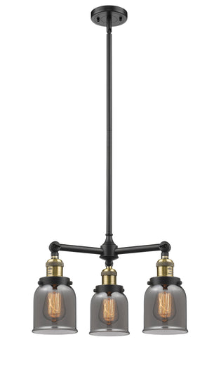 Small Bell 19-Inch Chandelier Hang Straight Swivel