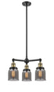 Load image into Gallery viewer, Small Bell 19-Inch Chandelier Hang Straight Swivel
