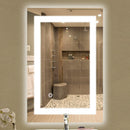 Load image into Gallery viewer, Backlit LED Lighted Mirror with Touch Switch Control - Accord Style Vanity Mirror