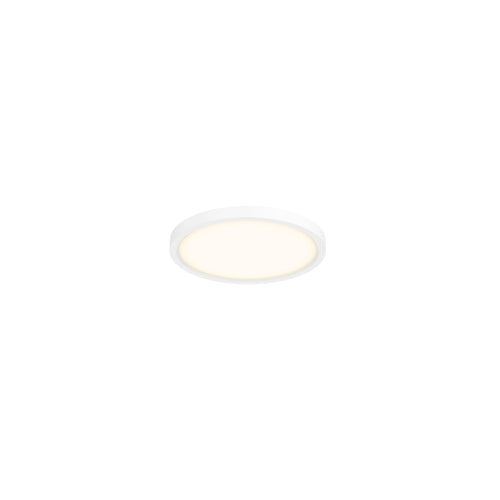 5 Inch Round LED Pro Flushmount, 3000K (Warm White), White Finish