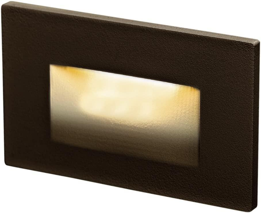 Recessed Horizontal LED Step Light In 3 Watt