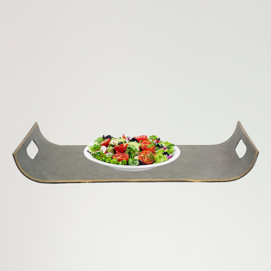 "Tray (Set of 2) 20.25""L, 22.25""L Metal"