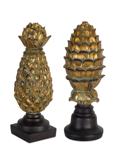 "Finial (Set of 2) 11.25""H Resin"
