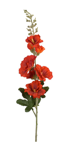 Hollyhock (Set of 6) 36 Inch In Polyester/Plastic
