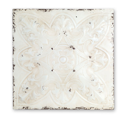 Ceiling Tile (Set of 2) In Iron