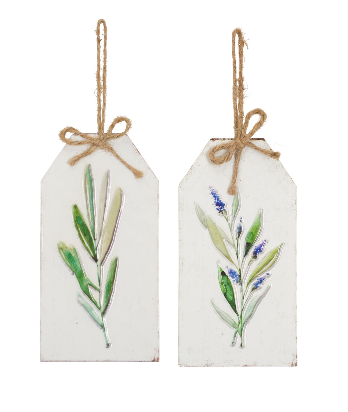 Lavender Tag (Set of 12) 8.25