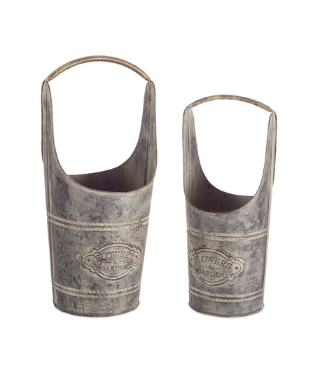 Container Metal, 2 set - 6.75 x 16.25, 8.25 x 19 Inches