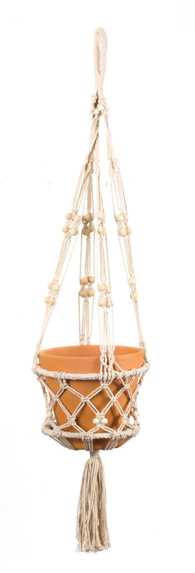 Macrame Pot Holder (Set of 4) 40