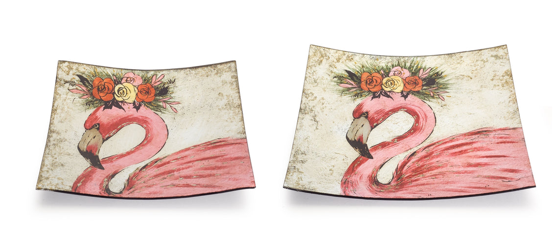 Flamingo Platter (Set of 2) 11
