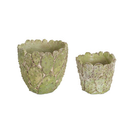 Cactus Design Cement Pots, 4 set: 5