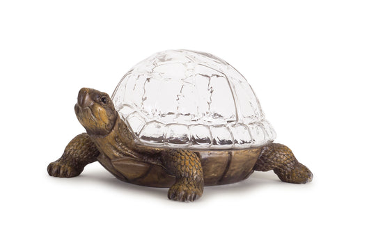 "Turtle 15.25"" x 7.25""H Resin"