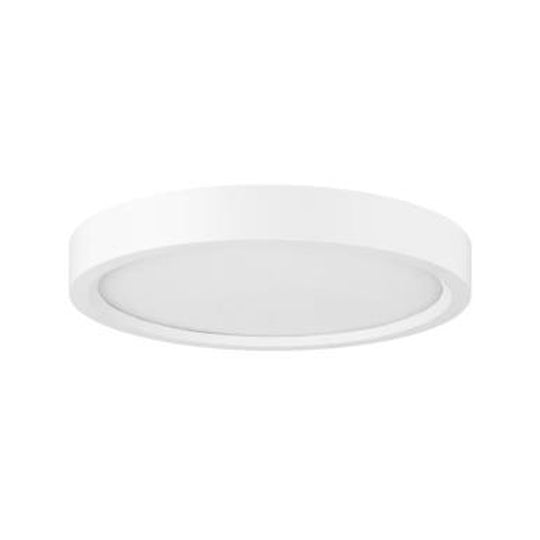 Round LED Mini Flat Panel Fixture, 30K/40K/50K - Color Tunable