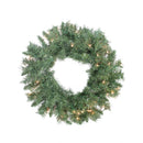 "Load image into Gallery viewer, 24"" Pre-lit Minetoba Pine Artificial Christmas Wreath"
