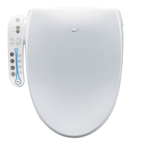 Bio Bidet Aura Advanced Bidet Seat- Elongated White