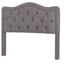 Load image into Gallery viewer, Modern Allure Button Tufted Queen Bed Frame With Headboard - Bed Headboard
