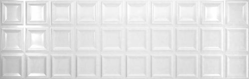 Austral Essence Blanco 12.44 X 39.37 Inch Euro 3D Polished Wall Tile
