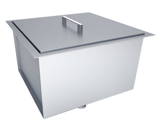 "Over/Under 20"" x 12"" Height Single Basin Sink W/ Cover 