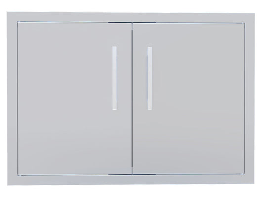 Beveled Frame Double Door